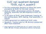 clic vg1 quadrant damped td18 vg2 4 quad 3