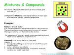 mixtures compounds