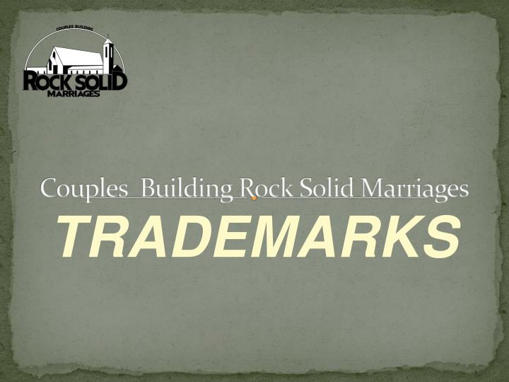 couples building rock solid marriages n.