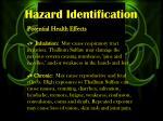 hazard identification3