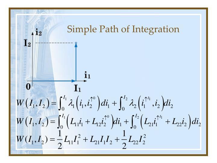 Simple Path of Integration