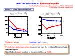 n n form factors at resonance poles