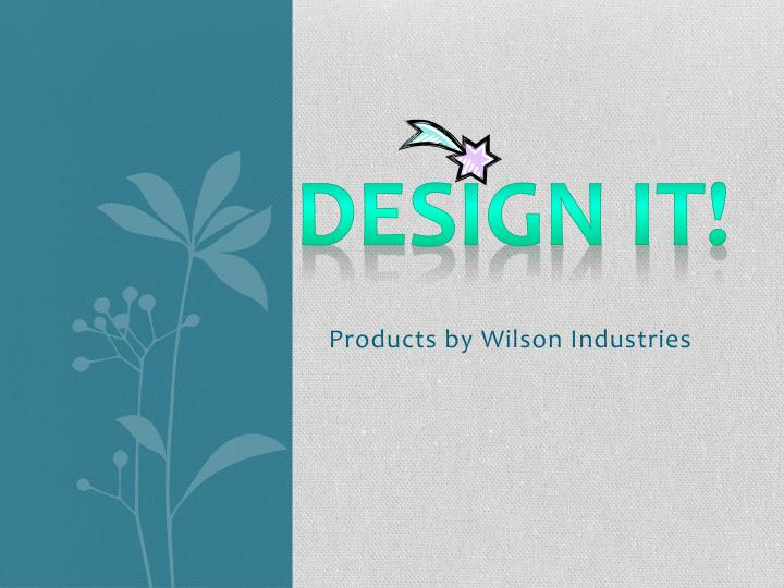 products by wilson industries n.