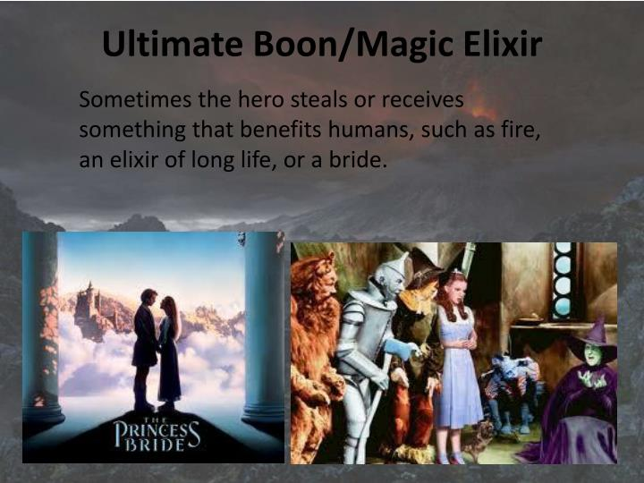 Ultimate Boon/Magic Elixir