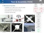 test assembly hvoc