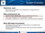 system evolution1