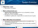 system evolution4