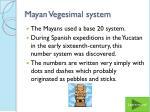 mayan vegesimal system