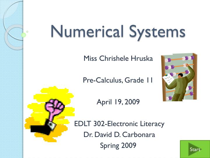 numerical systems n.
