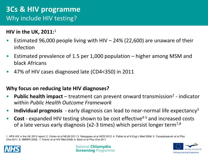 HIV in the UK, 2011: