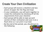 create your own civilization1
