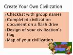 create your own civilization2