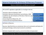 reserve evaluation for enhance oil recovery purposes2