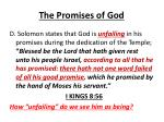the promises of god8