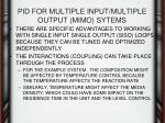 pid for multiple input multiple output mimo sytems3