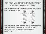 pid for multiple input multiple output mimo sytems6