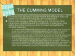 the cummins model