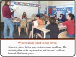 what is daily read aloud time