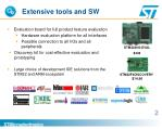 extensive tools and sw