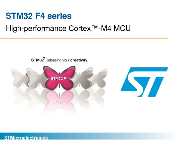 high performance cortex m4 mcu n.