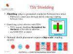 tsv shielding