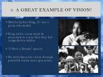 5 a great example of vision