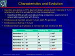 characteristics and evolution