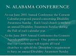n alabama conference
