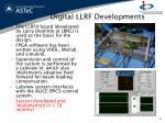 digital llrf developments