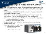 digital piezo tuner control