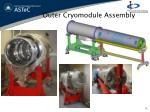outer cryomodule assembly