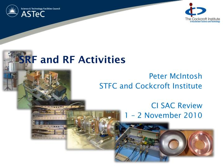 srf and rf activities n.