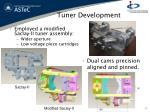 tuner development