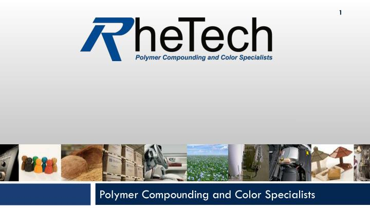 polymer compounding and color specialists n.