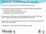 periodic battleship 1 on 1