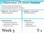 september 24 2013 tuesday