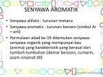 senyawa aromatik