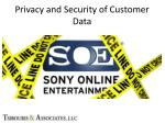 privacy and security of customer data5