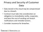 privacy and security of customer data6