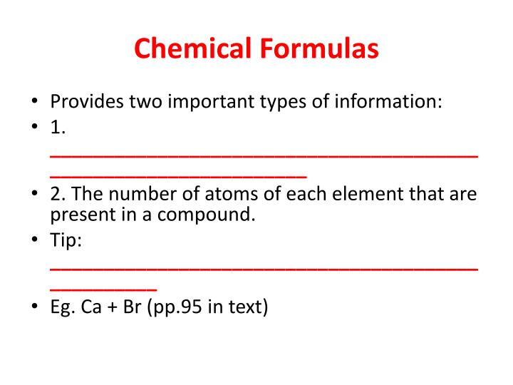 powerpoint presentation writing chemical formulas In this lesson, you will learn how to write the chemical formulas for both binary ionic compounds and polyatomic ionic compounds when you are given.