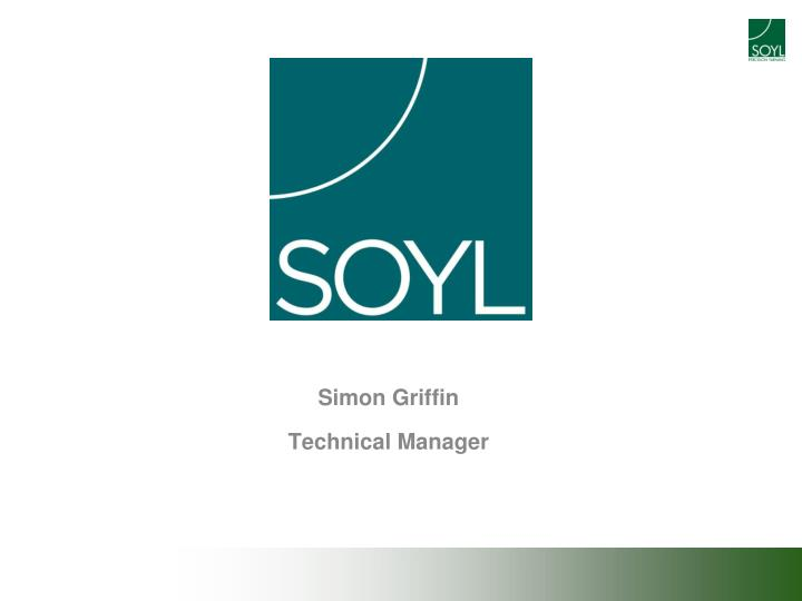 simon griffin technical manager n.