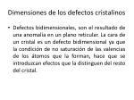 dimensiones de los defectos cristalinos3