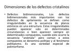 dimensiones de los defectos cristalinos4