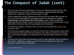 the conquest of judah cont1