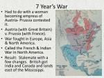 7 year s war
