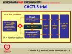 cactus trial