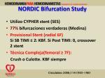 nordic bifurcation study1