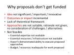 why proposals don t get funded