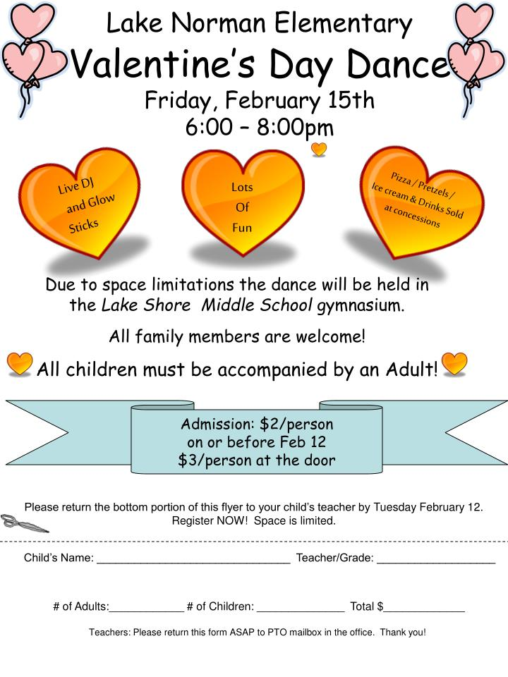 lake norman elementary valentine s day dance friday february 15th 6 00 8 00pm n.
