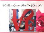 love sculpture new york city ny